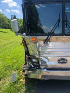 Pine Ridge Boys bus