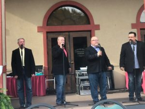 Justified at the Singing On The Square at Creekside 2019