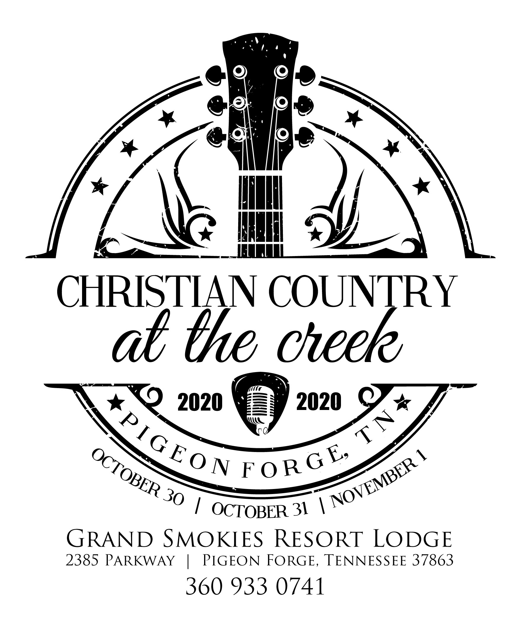 Christian Country At The Creek Returns To Pigeon Forge In 2020