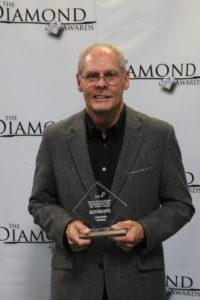 Gerald Crabb at 2019 Diamond Awards