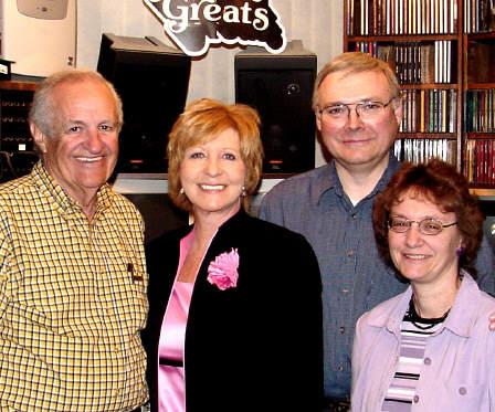 Maurice Templeton and his wife, Marsha, spent their first anniversary touring Pennsylvania Dutch country. Included was a visit with Paul and Shelia Heil