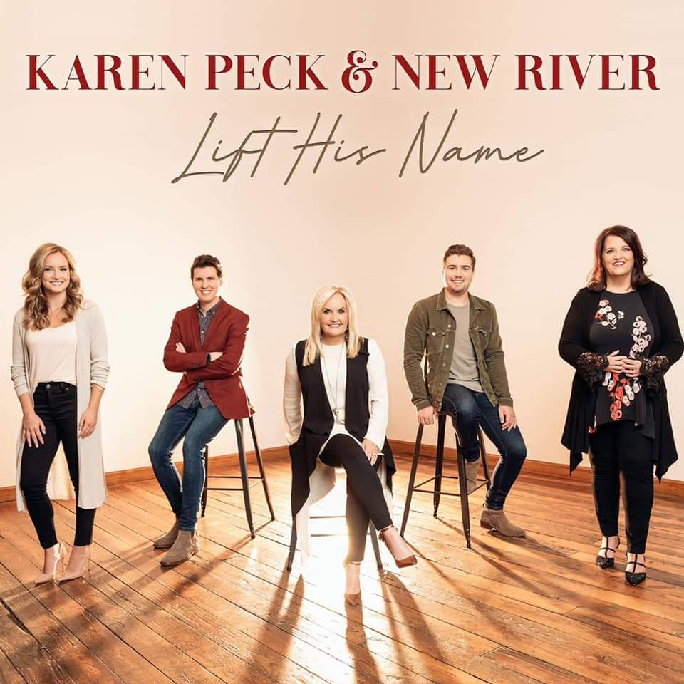 Karen Peck & New River Sign with Godsey Media Management