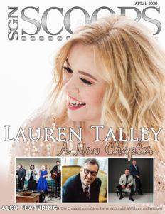 April 2020 SGN Scoops Magazine. Lauren Talley