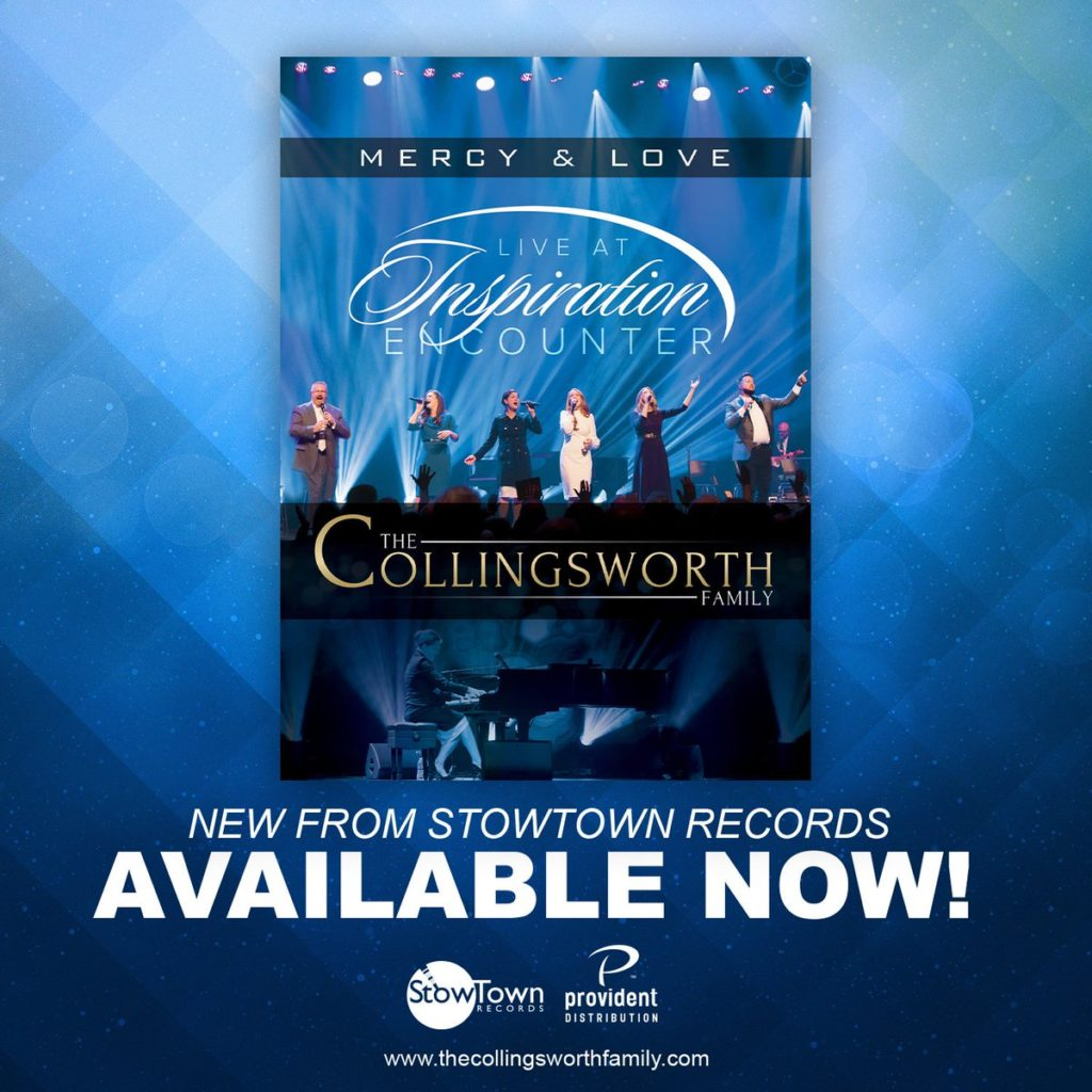 "The Collingsworth Family Presents ""Mercy & Love Live at Inspiration Encounter"" DVD"
