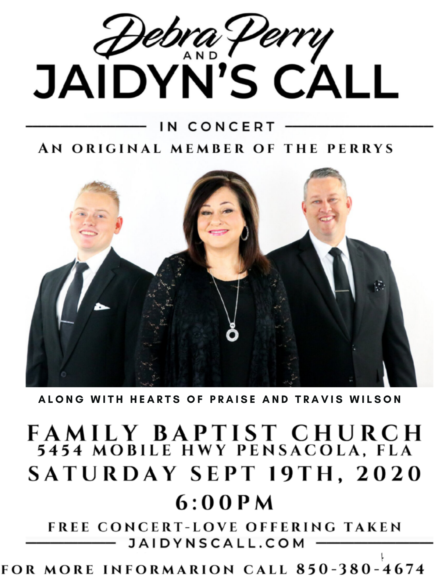 HeartRight Productions Presents Debra Perry and Jaidyn's Call
